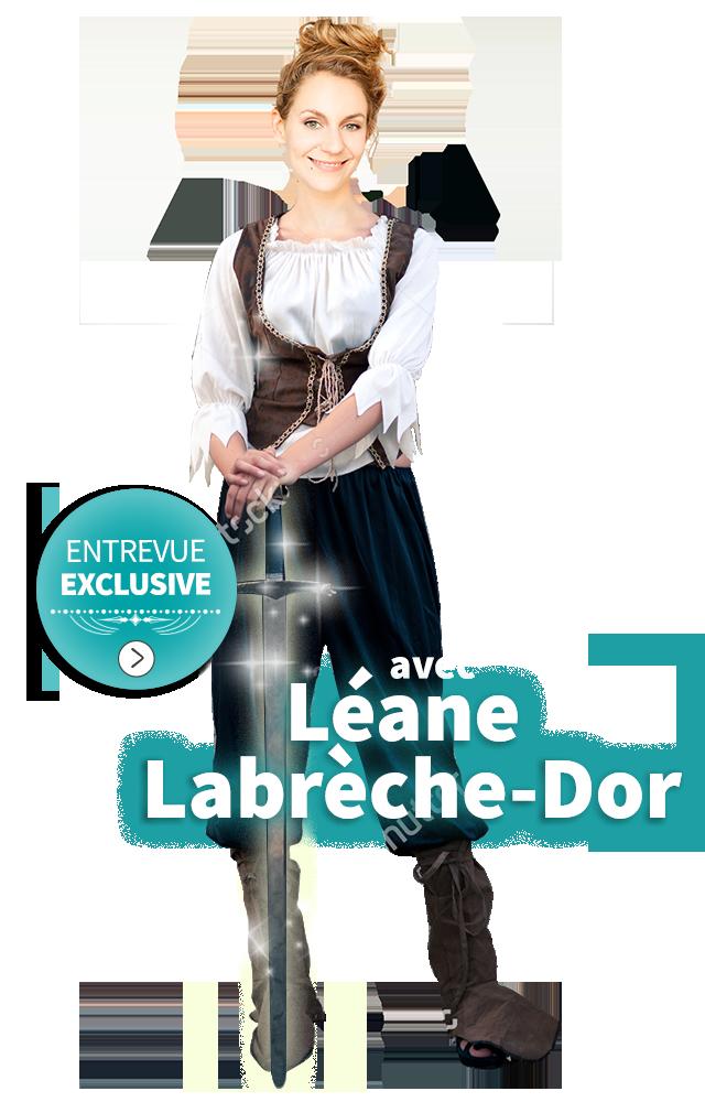 Entrevue exclusive avec Léane Labrèche-D'Or